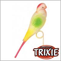 TRIXIE TX-5312 Пластиковый попугай для жёрдочки TRIXIE 15см
