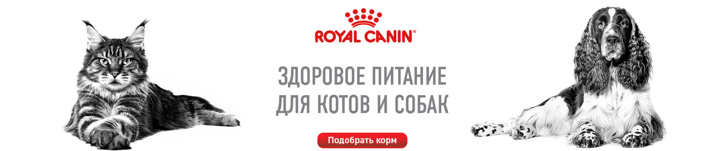 Продукция Royal Canin