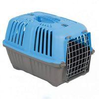 Переноска для кошек и собак PRATICO  дверь железная