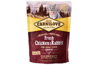 Carnilove Fresh Chicken & Rabbit for Adult cats 6 kg курица,кролик для котов