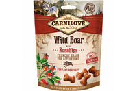 Лакомство для собак Carnilove Dog Wild Boar with Rosehips Crunchy Snack дикий кабан, шиповник 200 гр.