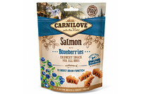Лакомство для собак Carnilove Dog Salmon with Blueberries Crunchy Snack лосось, черника 200 гр.