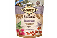 Лакомство для собак Carnilove Dog Mackerel with Raspberries Crunchy Snack скумбрия, малина 200 гр.