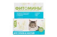 Фитомины - Для зубов и костей для кошек 50г