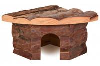 Угловой домик для грызунов TRIXIE - Jesper , 21 x 10 x 15/15 см,  для: мыши, хомяки