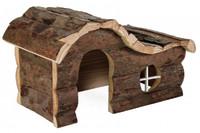 Угловой домик для грызунов TRIXIE - Hanna, 26 x 16 x 15 см, для: мыши, хомяки