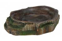 Миска для рептилий TRIXIE ,  10 x 2,5 x 7,5 см.  Украшение: тропический лес