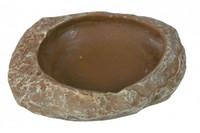 TRIXIЕ  Кормушка-поилка для рептилий, 6 x 1.5 x 4.5см, Украшение: степная скала