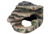 Угловая пещера для террарирума TRIXIE,  16х12х15см, Украшение: тропический лес