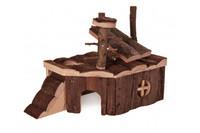 Игровой домик для грызунов TRIXIE - Kjeld, 24 x 17 x 14 см, для: мыши, хомяки