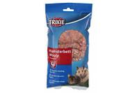 Подстилка для грызунов TRIXIE - Wooly Вес: 20гр, коричневый
