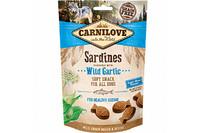 Лакомство для собак Carnilove Dog Sardines with Wild garlic Semi Moist сардина, чеснок 200 гр.