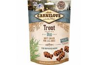 Лакомство для собак Carnilove Dog Trout with Dill Semi Moist форель, укроп 200 гр.