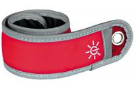 Подвеска светоотражающая для бегунов TRIXIE, 35х4 см, красный