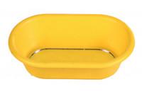 Пластиковая ванночка для птиц TRIXIE с зеркалом, 14,5х8 см