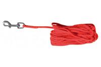 Поводок для собак TRIXIE  15м/5мм,  красный