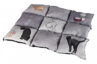 "Подстилка""Patchwork Cat"", 55х45см,,  серый"