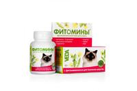 Фитомины очистительные для выведения шерсти, для кошек 50г