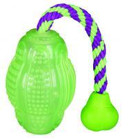 TRIXIE TX-33647 Мяч для регби фосфоресцирующий, 10 см/30 см