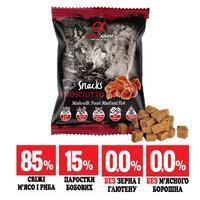 Напіввологі ласощі для собак ALPHA SPIRIT снек з прошуто 50g