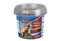 Сердечки для собак TRIXIE - Mini Hearts, курица ягнёнок лосось , 200 г