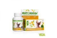 Фитомины - Против аллергии для кошек 50г