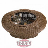 Trixie TX-28321 плетёная корзинка с матрасом для кошек Трикси