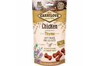 Carnilove Cat Chicken with Thyme Semi Moist Snack  Лакомство для кошек курица, тимьян 50 гр.