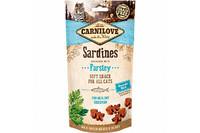 Carnilove Cat Sardine with Parsley Semi Moist Snack  Лакомство для кошек сардина, петрушка 50 гр.