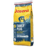 Josera Family Plus  Корм для щенков и кормящих сук 15 кг Josera Family Корм для щенков и кормящих девочек
