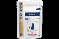 Royal Canin Renal Feline Chicken Pouches  для взрослых кошек, почечная недостаточность 0,1 кг