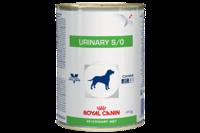 Royal Canin Urinary Canine Cans  для собак при лечении и профилактике мочекаменной болезни,   0,41 кг