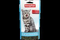 Beaphar Cat-A-Dent Bits Подушечки для чистки зубов кошек, 75 шт