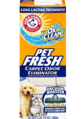 Arm and Hammer Pet Fresh Carpet Odor Eliminator дезодорант для ковров в виде порошка