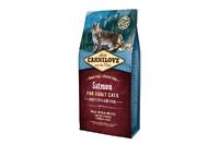 Carnilove Cat Salmon Sensitive & LongHair с лососем для взрослых кошек с чувствительным пищеварением и длинношерстных кошек 6кг