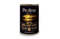 Profine Beef & Beef liver - консервы для собак (говядина/печень) 400г