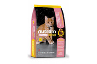 S1 Nutram Sound Balanced Wellness®Natural Kitten Food Рецепт с курицей и лососем Для котят 20 кг