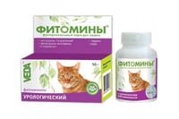 Фитомины с урологическим фитокомплексом для кошек 50г