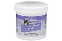 Nutri-Vet Feline Ear Wipe НУТРИ-ВЕТ ЧИСТЫЕ УШИ влажные салфетки для гигиены ушей кошек, 90 шт.