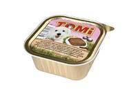 TOMi veal lamb МЯСО ЯГНЕНОК консервы для собак, паштет , 0.15 кг.