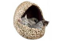 Лежак для кошки TRIXIE- Leo, 40х35х35 см, меховой леопард
