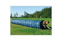 Тренировочный тоннель для собак TRIXIE, 60см/5м,тёмно-голубой