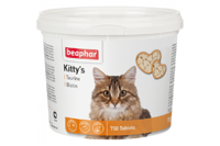 Beaphar Кормовая добавка Kitty's + Taurine-Biotine с биотином и таурином для кошек 750 таб.