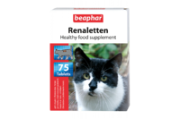 Beaphar Кормовая добавка Renaletten для кошек с почечными проблемами, 75 табл.
