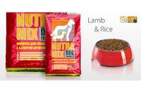 Nutra mix lamb meal and rise -сухой корм для собак, диетический рацион,  7.5кг