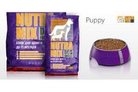 Nutra mix puppy-сухой корм для собак, состав для щенков,  7.5кг