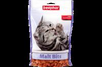 Beaphar Подушечки Malt Bits для выведения шерсти из желудка 35г