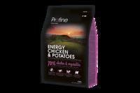 Profine (Профайн) Energy Chicken & Potatoes - сухой корм для активных собак с курицей и картофелем 15кг