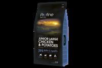 Profine (Профайн) Junior Large Breed Chicken & Potatoes - сухой корм для молодых собак крупных пород с курицей и картофелем 15кг