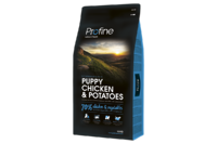 Profine (Профайн) Puppy CHICKEN & POTATOES - сухой корм для щенков и молодых собак с курицей и картофелем 15кг